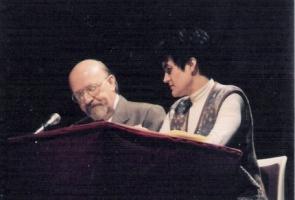 """PRESENTACIÓN DE """"LA REVOLUCIÓN DEL LLANTO""""  (1994)"""