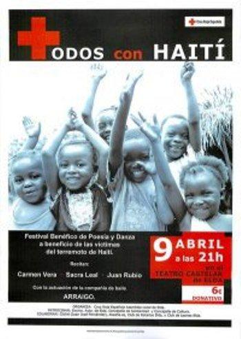 POESÍA PARA AYUDAR A HAITÍ